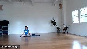 Nadi Shodhana Yoga 16min with Mary Bastien at Open Space Yoga Hawaii