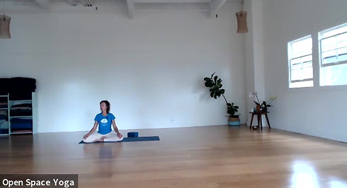 Nadi Shodhana Yoga 16min with Mary Bastien at Open Space Yoga Hawaii