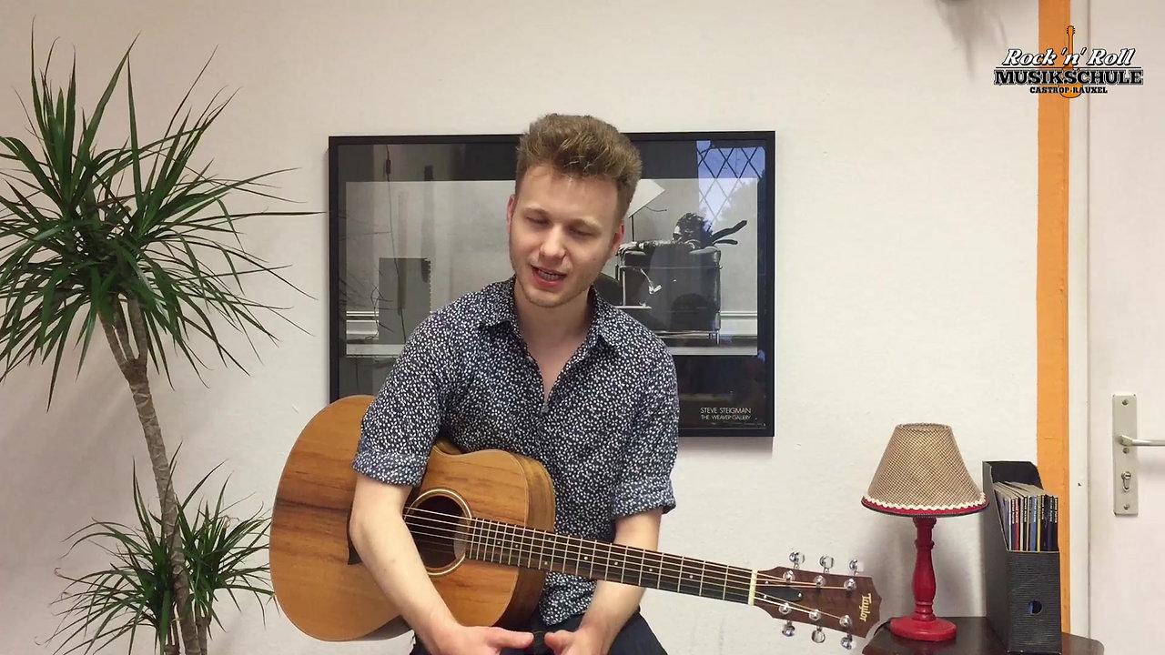 Kursvorstellung: Akustikgitarre Liedbegleitung