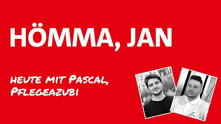 Hömma Jan: Gespräch mit Pascal, Pflegeazubi