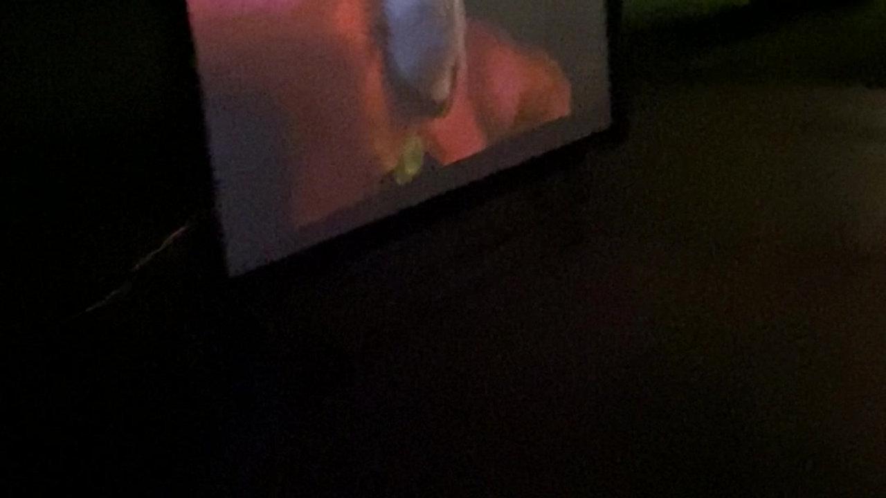 Video of 100inch StewartFilmscreen screen