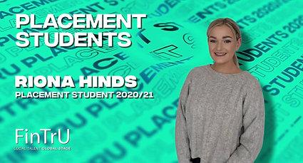 FinTrU Placement Students 2020/2021