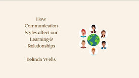 Communication & Learning Styles