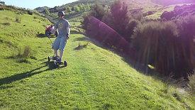 Down Hill - Mountain Board