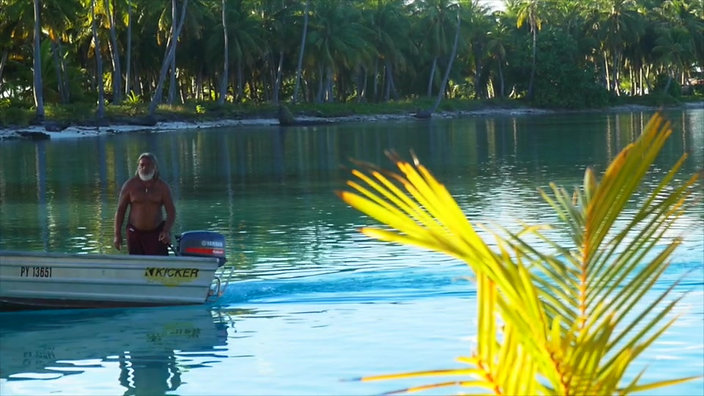Vidéo Pension Punua et Moana - Le Lagon Vert - Rangiroa