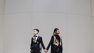 LGBT Wedding at Millwick, Downtown Los Angeles | Aleks + Rafa