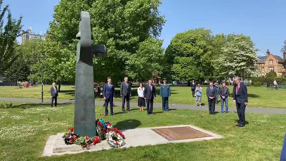 Victory Day 75 Memorial Ceremony