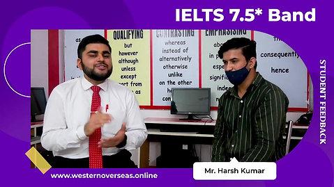 IELTS 6.5 Band Success Story _ Western Overseas