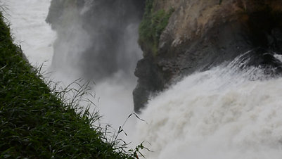 Murchisonfalls, River Nile, Uganda