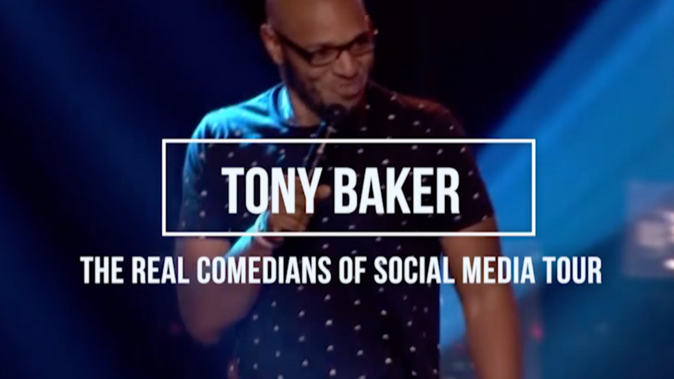Tony Baker- Real Comedians Of Social Media Tour