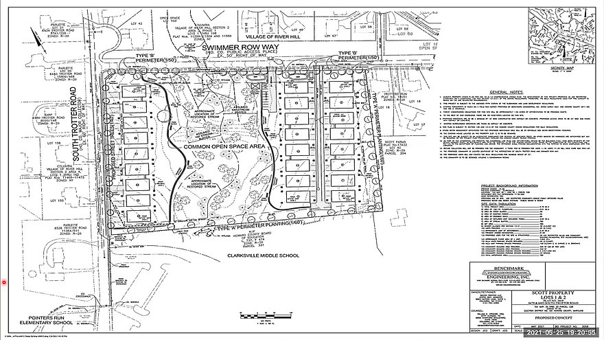 May 25th Scott Property Presubmission Community Meeting