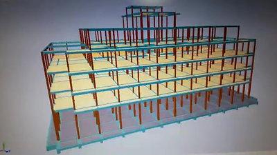 Estructura Edificio Petra III