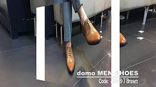 domo MEN SHOES COLLECTION 2017 - JD986-7 Brown