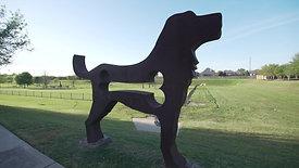 Riverstone Dog Park_ Dog Statue