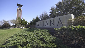 Aliana Main Entrece Sign