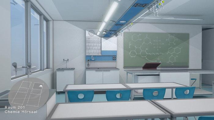 3D-Visualisierung | Waldner Laboreinrichtungen