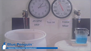 Freeze Miser™ Versus Hand Dripped Faucet