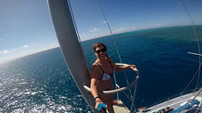Jumping from the crows nest on Rum Runner