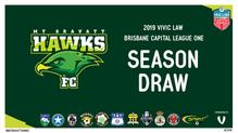 2019 Vilic Law Capital League One fixtures