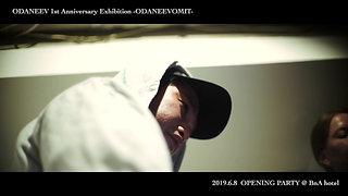 ODANEEV With MANIKA -Live Paint & Live Music & Live Sewing @ BnA Hotel Koenji