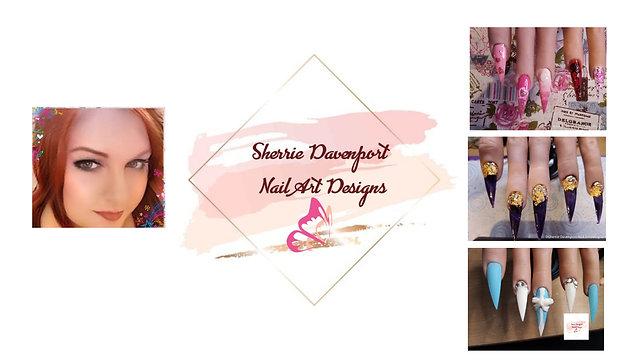 Sherrie Davenport Nail Art Designs