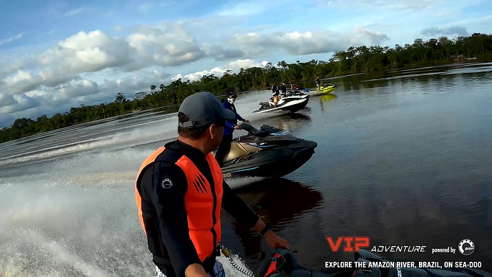 Explore the Amazon River on Sea-Doo