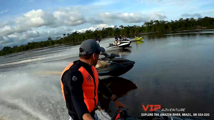 Explore the Amazon on Sea-Doo!