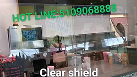 Clear Acrylic Shielded
