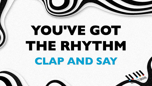 19. You've Got The Rhythm - upper level