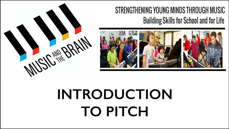Introduction to Pitch