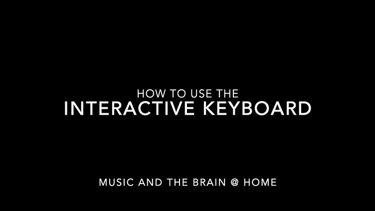 Interactive Keyboard Tutorial