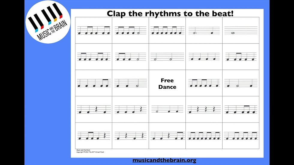 RA 2. Clap the Rhythms!