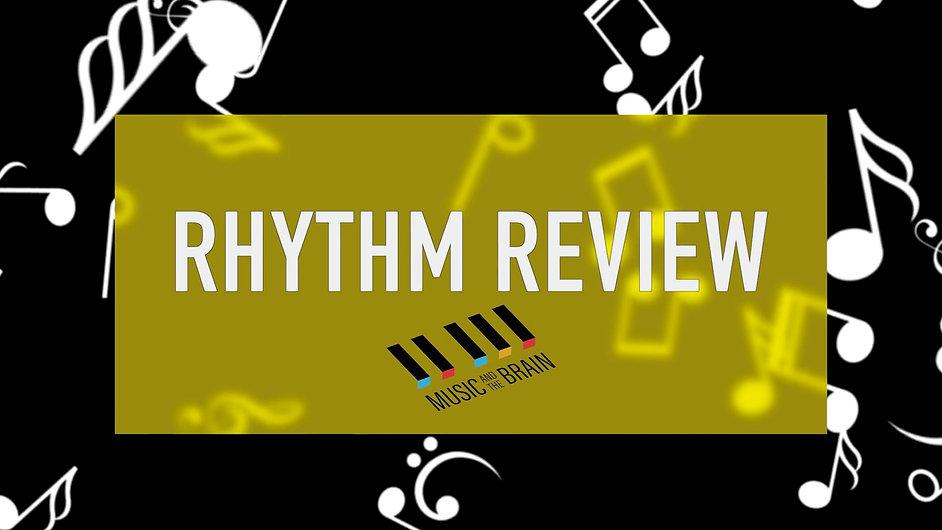 22. Rhythm Review-Upper Level- No vocals