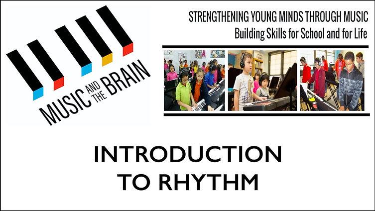 Intro to Rhythm Tutorial