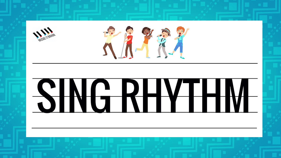 20. Singing Rhythm Challenge - Tas