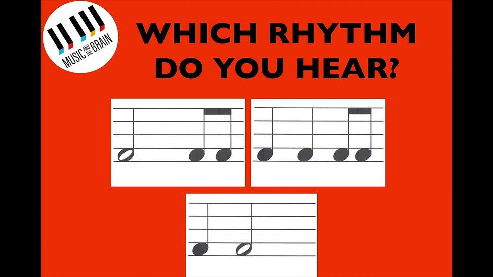 RA 5. 3/4 Rhythm Finder
