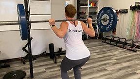 Narrow Stance Back Squat