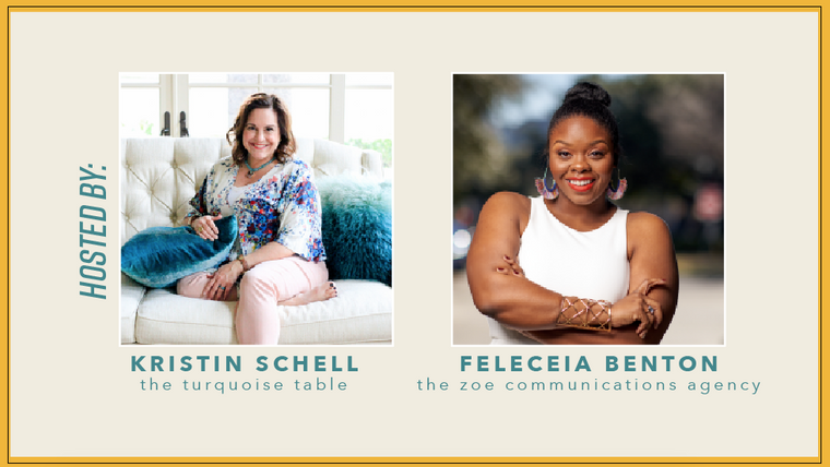 Community Forward with Kristin Schell and Feleceia Benton