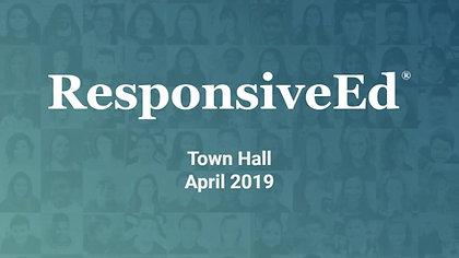 ResponsiveEd 2019: The THRIVE Initiative