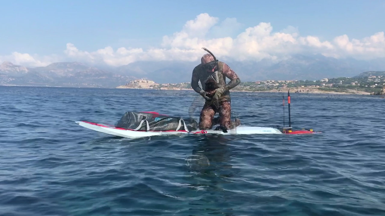 SPEARFISHING WITH TURBOSURF