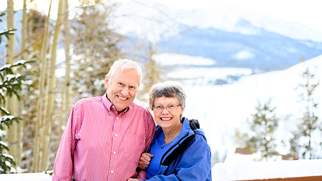 It's personal to Beth & Svein at Shaw Cancer Center