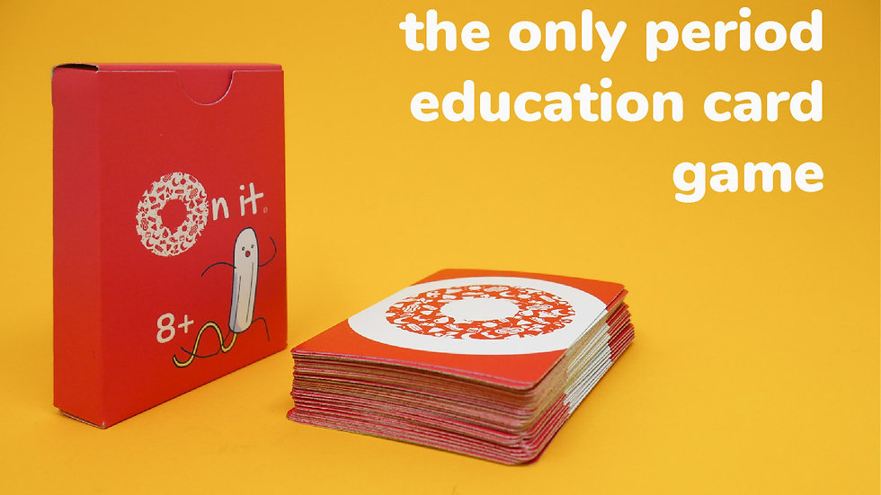 On It - Menstrual Education Card Game - Indiegogo Campaign Video