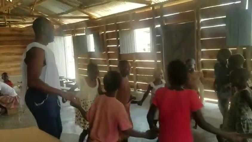 Hora Dance to Havah Nagilah with orphans in Uganda