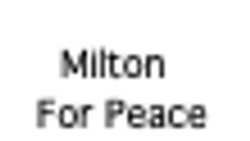 Milton for Peace climate video for Earth Day 2020