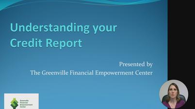 Credit Part 1: Understanding your credit report