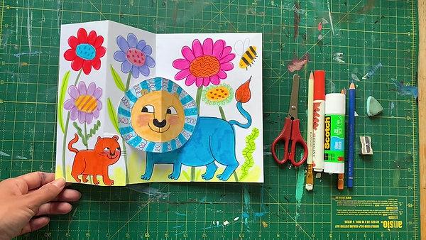 Pop-up Lions Art Workshop