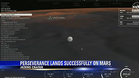 NASA's Perseverance rover makes landing on Mars