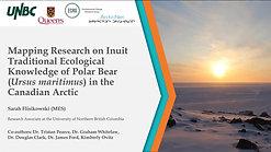 ArcticNet 2020 Oral Presentation - Sarah Flisikowski