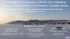 ArcticNet 2020 Oral Presentation - Jessica Smart