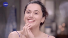 NIVEA Milk delights face wash ft. Tapsee